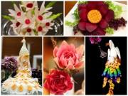Bếp Eva - Gợi ý các cách trang trí đĩa ăn, bàn ăn ngày Tết