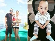 Giải trí - Vợ chồng Ngọc Thạch đưa con trai đi du lịch đầu năm