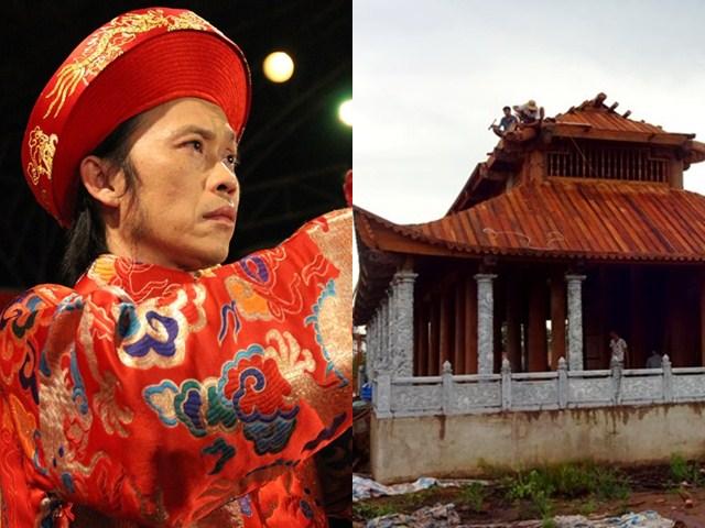 """NSƯT Hoài Linh: """"Có người muốn hãm hại tôi, tung tin nhà thờ Tổ bị dỡ"""""""