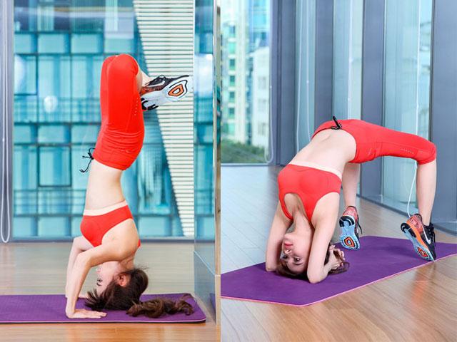 Sĩ Thanh cao hơn 2 cm nhờ tập yoga