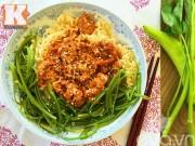 Bếp Eva - Biến tấu siêu hấp dẫn với mỳ tôm trộn chua cay