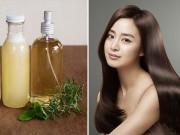 Làm đẹp - 3 công thức tại nhà điều trị cho tóc mỏng và gàu