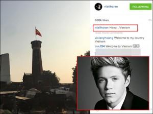 Nam ca sĩ nhóm One Direction bất ngờ khoe ảnh tại VN