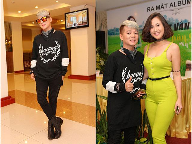 Vũ Hà bảnh bao, lịch lãm sánh vai DJ Jolly B đi sự kiện