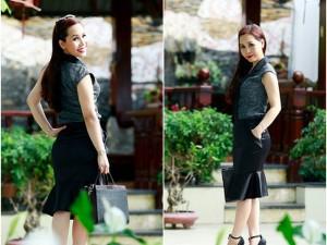 Nữ hoàng Kim Chi xinh đẹp dù không xài hàng hiệu