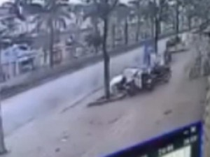 Camera ghi lại giây phút nổ lớn ở KĐT Văn Phú, Hà Đông