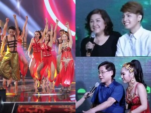 Mẹ của Noo Phước Thịnh, bố Hương Tràm xuất hiện tại The Remix