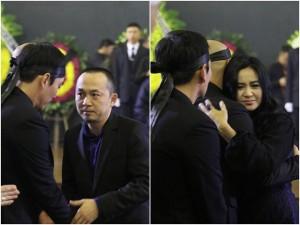 Quốc Trung, Thanh Lam đau buồn viếng Nhạc sĩ Thanh Tùng