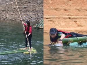 Hương Giang Idol, Tiến Đạt gian nan chèo bè giữa sông