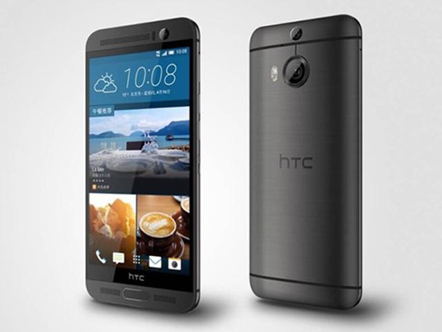 HTC One M9 Plus màn hình 5,2 inch siêu nét ra mắt
