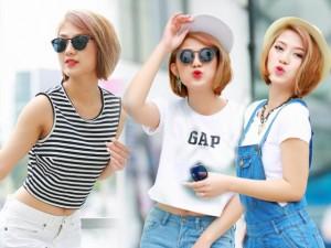 Thời trang chào hè cá tính của diễn viên Trang Cherry