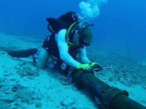 Sửa cáp quang biển AAG mất ít nhất 3 tuần