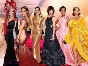 """Những màn hóa trang ấn tượng của sao tại """"Oscar thời trang"""""""