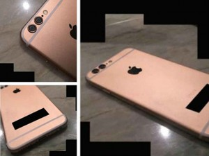 Lộ ảnh iPhone 6S với hai camera sau