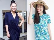 Giải trí - Bí quyết giảm cân sau sinh của Thu Minh, Hà Tăng