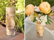 Nhà đẹp - Tự làm lọ hoa nhắn nhủ lời yêu từ que kem gỗ