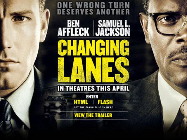 Cinemax 19/4: Changing Lanes