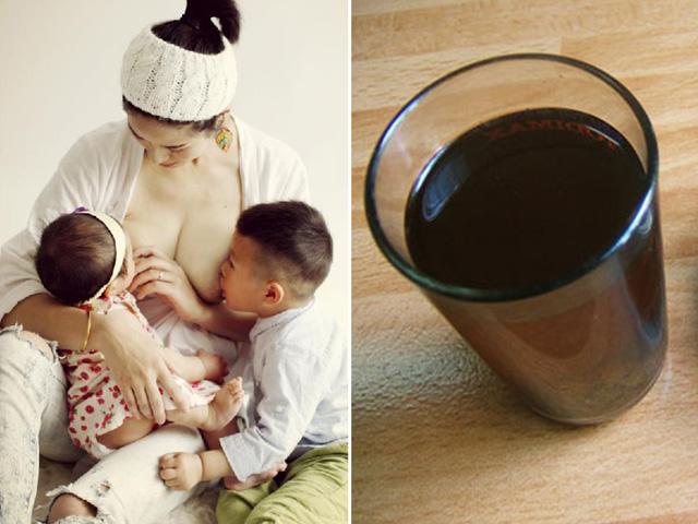 Ham uống chè vằng sau sinh: Coi chừng mất sữa!
