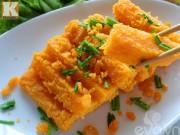 Bếp Eva - Bí đỏ xào trứng vịt muối đơn giản mà ngon