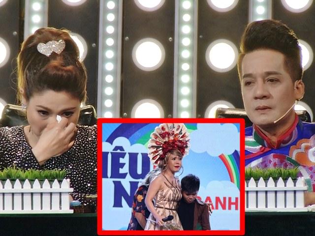 Thanh Thảo, Minh Nhí khóc nức nở trên truyền hình