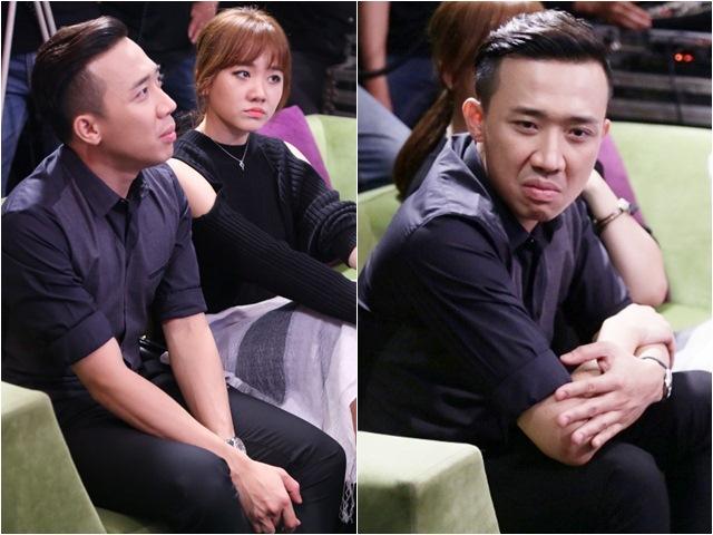 Trấn Thành 'kè kè' bên Hari Won và ghen vì bạn gái 'mê trai'