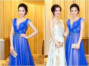 Hoa hậu Kỳ Duyên đẹp ngọt ngào, khó cưỡng bên Khánh My