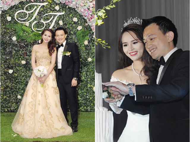 Hoa khôi Lại Hương Thảo lên xe hoa cùng chồng hơn 10 tuổi