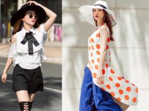 Yến Trang trổ tài mặc đồ Việt đẹp hơn hàng hiệu