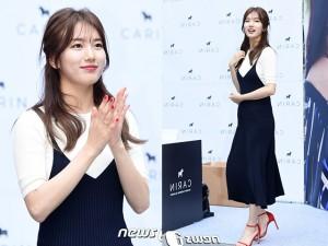 Bae Suzy vẫn đẹp như nữ thần dù tóc rối