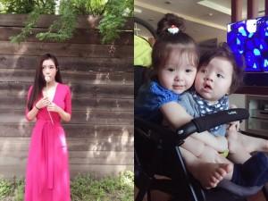 Mẹ đẹp - con xinh nhà Elly Trần liên tục gây bão mạng