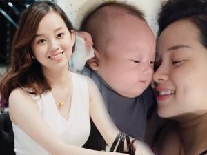 Đâu cần có chồng, Ly Kute vẫn hạnh phúc khi một mình nuôi con!
