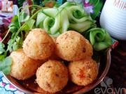Bếp Eva - Cơm viên chiên xù thơm ngon bé sẽ thích mê