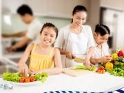 Làm mẹ - Lựa chọn, bảo quản và chế biến thực phẩm đúng cách cho bữa ăn của bé