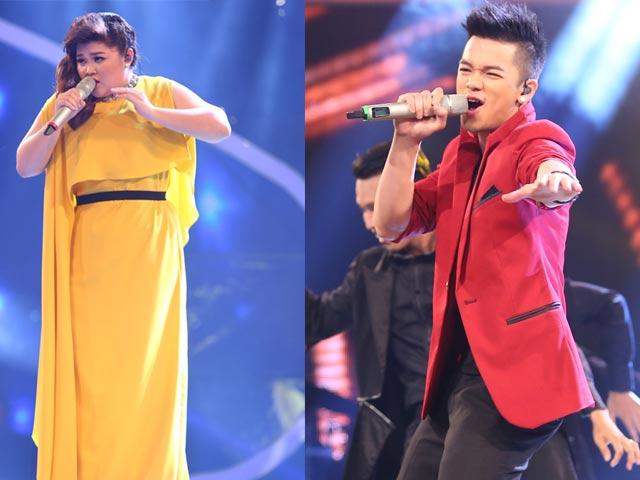 Vietnam Idol: Bích Ngọc, Trọng Hiếu cháy hết mình đêm chung kết