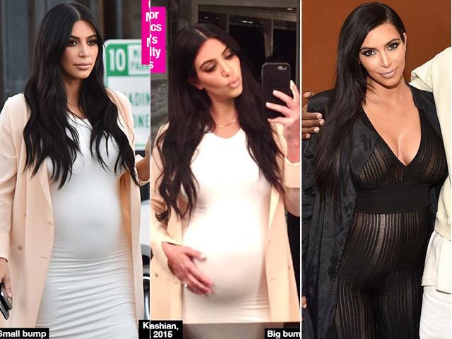 Kim Kardashian dính nghi vấn có bầu giả