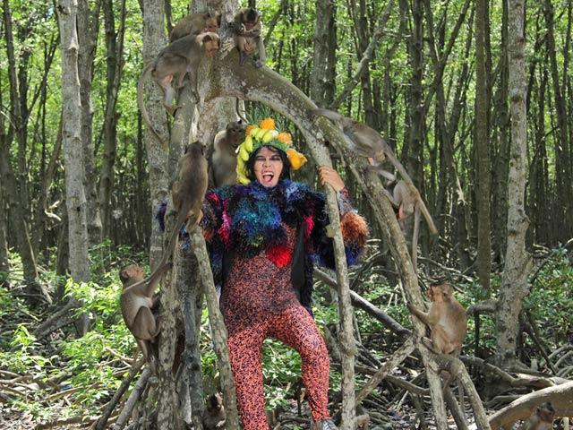 VNTM2015 tập 5: Top 11 hóa người rừng tạo dáng với khỉ