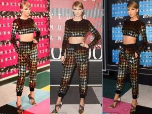 """Taylor Swift """"đánh bại"""" đàn chị tại Video Music Awards"""