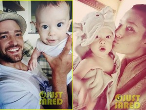 Justin Timberlake bất ngờ khoe ảnh con trai 5 tháng