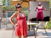 """""""Thót tim"""" xem mẹ bầu 38 tuần khiêu vũ cực sung"""