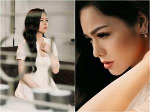 Nhật Kim Anh đẹp mơ màng, gợi cảm gái một con