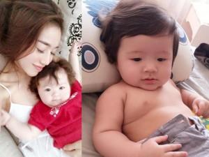 Con trai Elly Trần khoe cơ bắp khiến fan phát sốt