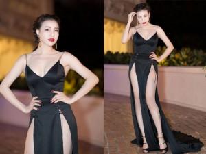 Thời trang sao Việt xấu tuần qua: Váy xẻ hông tức mắt của Trà Ngọc Hằng