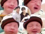 Giải trí - Cận cảnh gương mặt hóm hỉnh của con trai thứ 4 nhà Lý Hải - Minh Hà