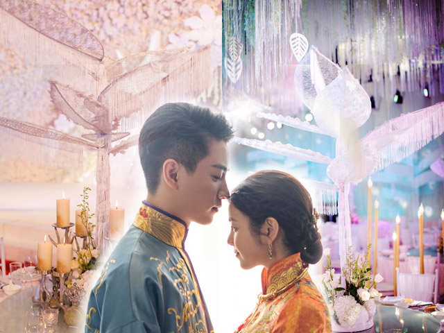 Xem trước khung cảnh đám cưới long lanh của Trần Nghiên Hy - Trần Hiểu