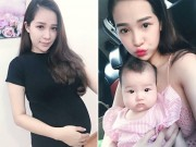 Người mẫu xinh đẹp kể chuyện 'phát hoảng' vì 3 tháng mang bầu tăng 25kg