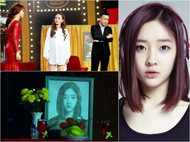 """Trấn Thành lại dính """"phốt"""" khi dùng hình ca sĩ Hàn Quốc làm... ảnh thờ"""