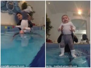 Sự thật bất ngờ sau video quay cảnh trẻ 6 tháng tuổi bị ném xuống nước