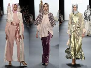 NTK Hồi giáo đầu tiên trình diễn trang phục trùm đầu tại New York Fashion Week