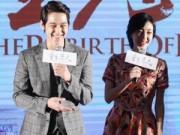 Kim Bum tươi rói sau tin Moon Geun Young có bầu