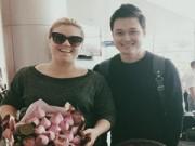Quang Vinh vui mừng khi gặp gỡ Kelly Clarkson